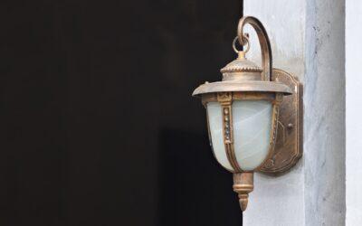 Føl dig tryg i dit eget hjem med led lampe med sensor udendørs
